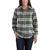 Carhartt Women's Hamilton Flannel II Long Sleeve Shirt