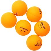 Stiga Three-Star Indoor Table Tennis Balls 6 Pack