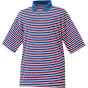 FootJoy Men's Stretch Pique Multi-Stripe Golf Polo