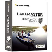 Humminbird Lakemaster MidAtlantic States Map Card