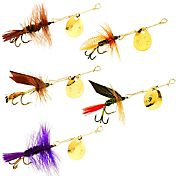 Joe's Flies Hot 4 Trout 5-Pack Lures