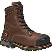 Timberland PRO Men's 8'' Boondock Waterproof 600g Composite Toe Work Boots