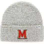 '47 Men's Maryland Terrapins Heathered Grey Brain Freeze Cuffed Knit