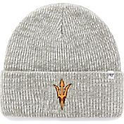 '47 Men's Arizona State Sun Devils Heathered Grey Brain Freeze Cuffed Knit