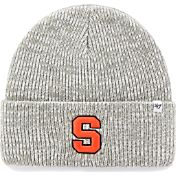 '47 Men's Syracuse Orange Heathered Grey Brain Freeze Cuffed Knit