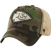 '47 Men's Kansas City Chiefs Burnett Adjustable Camouflage Hat