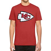 '47 Men's Kansas City Chiefs Knockout Fieldhouse Applique T-Shirt