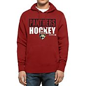 '47 Men's Florida Panthers Headline Pullover Red Hoodie