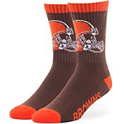 '47 Cleveland Browns Bolt Crew Socks