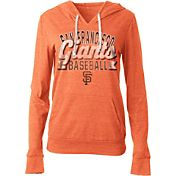 5th & Ocean Women's San Francisco Giants Orange Tri-Blend Hoodie