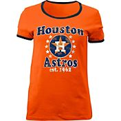 5th & Ocean Women's Houston Astros Orange T-Shirt