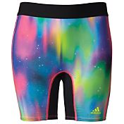adidas Girls' Destiny Printed Softball Sliding Shorts