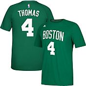 adidas Men's Boston Celtics Isaiah Thomas #4 climalite Kelly Green T-Shirt