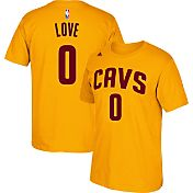 adidas Men's Cleveland Cavaliers Kevin Love #0 Gold T-Shirt
