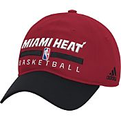 adidas Men's Miami Heat Practice Performance Adjustable Hat