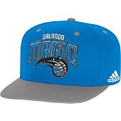 adidas Men's Orlando Magic On-Court Adjustable Snapback Hat