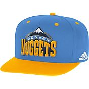 adidas Men's Denver Nuggets On-Court Adjustable Snapback Hat
