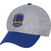adidas Men's Golden State Warriors Structured Grey Flex Hat