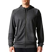 adidas Men's Streetball Full-Zip Basketball Hoodie