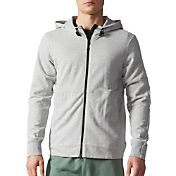 adidas Men's Athletics French Terry Herringbone Jacket