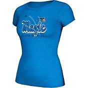 adidas Women's Orlando Magic Script Logo Royal T-Shirt