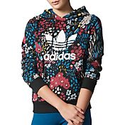adidas Women's Originals Trefoil Logo Graphic Hoodie