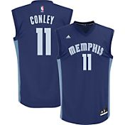 adidas Youth Memphis Grizzlies Mike Conley #11 Road Navy Replica Jersey