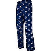 adidas Youth Milwaukee Brewers Navy Logo Pajama Pants