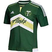 adidas Youth Portland Timbers Replica Home Jersey