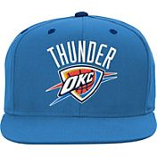 adidas Youth Oklahoma City Thunder Blue Adjustable Snapback Hat