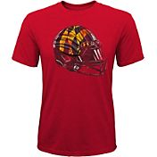 Gen2 Youth Maryland Terrapins Red Helmet T-Shirt
