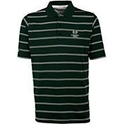 Antigua Men's Colorado State Rams Green Deluxe Performance Polo