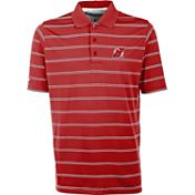 Antigua Men's New Jersey Devils Deluxe Red Polo Shirt