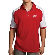Antigua Men's Detroit Red Wings Red/White Century Polo
