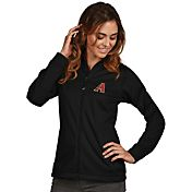Antigua Women's Arizona Diamondbacks Full-Zip Black      Golf Jacket
