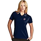 Antigua Women's Minnesota Twins Exceed Navy Performance Polo