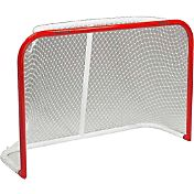Black Ice 72'' Curved Metal Ice Hockey Goal