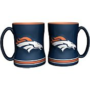 Boelter Denver Broncos Relief 14oz Coffee Mug 2-Pack