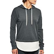 CALIA by Carrie Underwood Women's Heather Droptail Hoodie