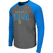 Colosseum Men's UCLA Bruins Grey Olympus Long Sleeve Shirt