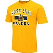 Colosseum Athletics Men's Murray State Racers Gold Dual Blend T-Shirt