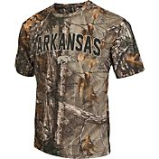 Colosseum Athletics Men's Arkansas Razorbacks Camo Brow Tine T-Shirt