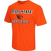 Colosseum Athletics Men's Oregon State Beavers Orange Matrix T-Shirt