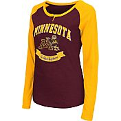 Colosseum Athletics Women's Minnesota Golden Gophers Maroon Healy Long Sleeve Shirt