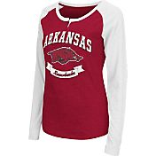 Colosseum Athletics Women's Arkansas Razorbacks Cardinal Healy Long Sleeve Shirt