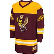 Colosseum Athletics Youth Minnesota Golden Gophers Maroon Open Net Hockey Jersey