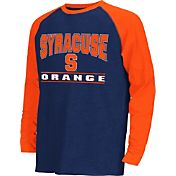 Colosseum Athletics Youth Syracuse Orange Blue Krypton Long Sleeve Shirt