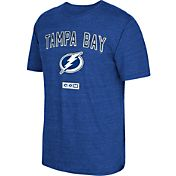 CCM Men's Tampa Bay Lightning Stitches Needed Royal T-Shirt