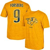 CCM Men's Nashville Predators Filip Forsberg #9 Vintage Replica Gold Player T-Shirt