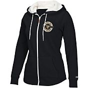 CCM Women's Pittsburgh Penguins Plush Full-Zip Fleece Hoodie